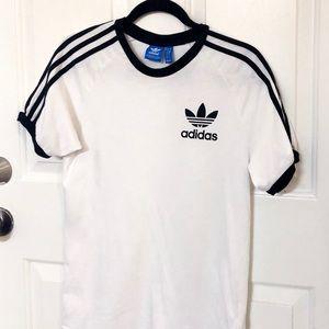 Adidas three stripe tee